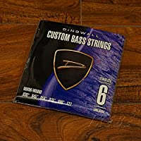 ディングウォル CUSTOM BASS STRINGS [STAINLESS 6ST] SET ROUND-WOUND .030-.127[PB]