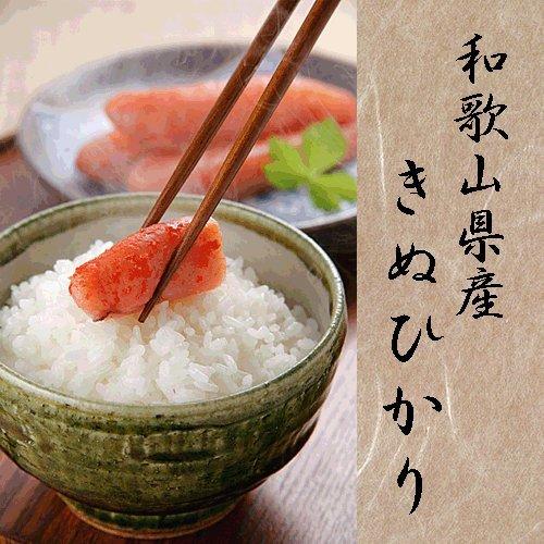 令和元年産 和歌山産 キヌヒカリ 玄米 紀州米 各種サイズ 玄米食不可 (玄米のまま, 10kg×2袋)