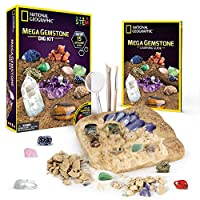 [ナショナルジオグラフィック]National Geographic Mega Gemstone Mine Dig Up 15 Real Gems with NATIONAL GEOGRAPHIC [並行輸入品]