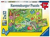 ラベンスバーガー(Ravensburger) 庭のお友達(12ピース×2) 07610 9