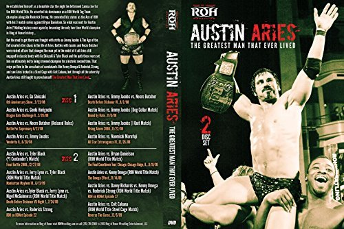 Official Ring of Honor ROH - Best of Austin Aries: The Greatest Man That Ever Lived (2 Disc Set) DVD by Austin Aries