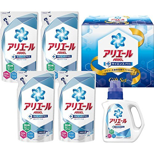 【ギフトセット】 アリエール 洗濯洗剤 液体 イオンパワージェル サイエンスプラス PGLA-30T