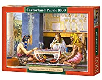 Jigsaw Puzzle - 1000 Pieces - Sir Lawrence Alma-Tadema : Egyptian Chess Players by Castorland