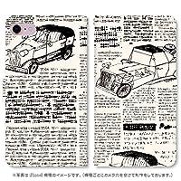 スマホ スマートフォン 手帳 スマホケース new spaper 【3184_new spaper(A)|AQUOS R3 SH-04L】