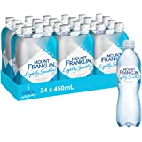 Mount Franklin Lightly Sparkling Natural Water 24 x 450mL