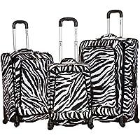 Rockland Fusion 3 Piece Luggage Set