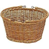 丸和貿易 収納バスケット アンソレイエ オーバルパニエ L 400814602