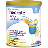 Neocate Junior with Prebiotics, Vanilla, 14.1 oz / 400 g (1 can)
