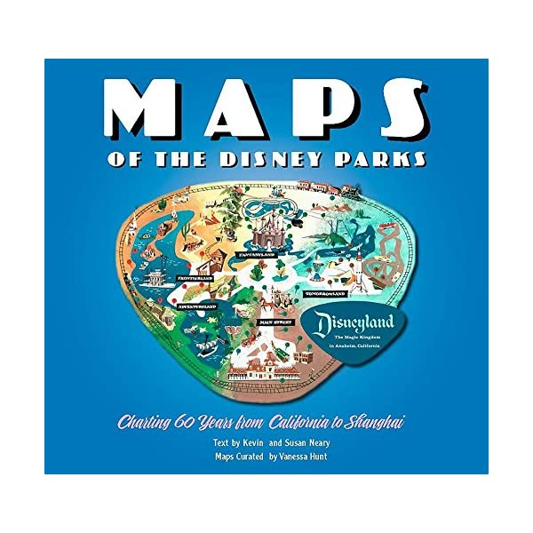 Maps of the Disney Parks...の商品画像