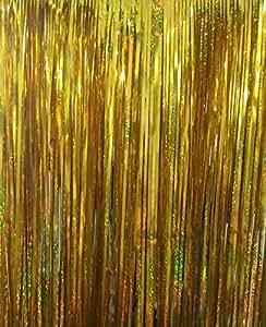 パーティー用 カーテン 写真 舞台 背景 1m×1m (金)