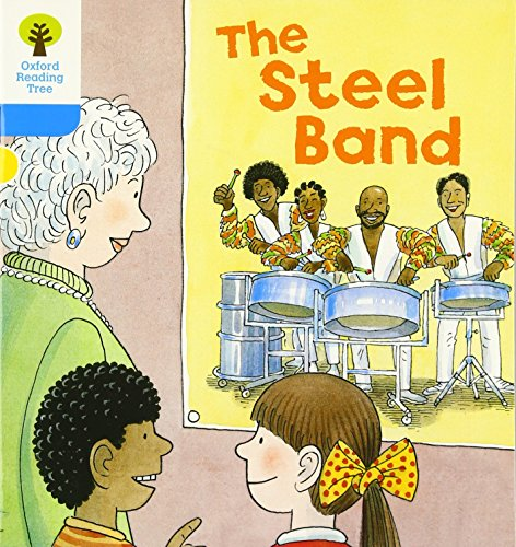 Oxford Reading Tree: Level 3: First Sentences: The Steel Bandの詳細を見る