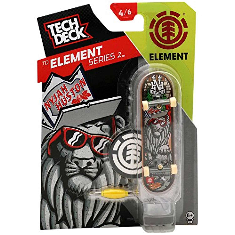 TECH DECK (テック デッキ) 96mm Vol.9 / Element / Nyjah Huston Party Animal Left 20073122