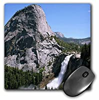 3drose LLC 8x 8x 0.25インチマウスパッド、Nevada Falls inヨセミテ国立公園( MP _ 36437_ 1)