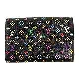(ルイヴィトン) LOUIS VUITTON 財布 マルチカラー アレクサンドラ ブラック M60084