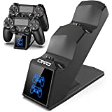 PS4 Controller Charger Dock Station, OIVO PS4 Dual Shock 4 Fast Charger Docking Station with lED Indicator for Sony Playstati