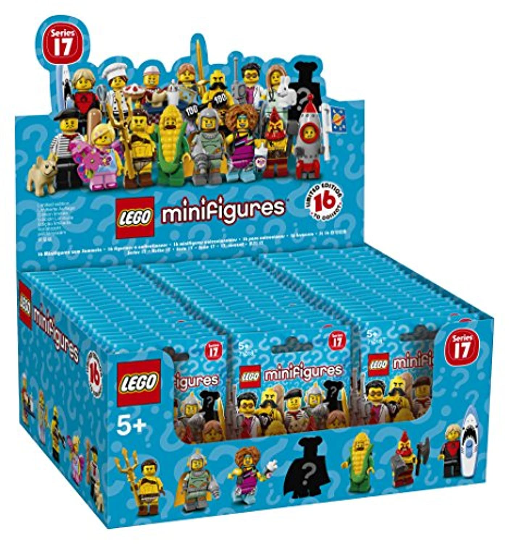 レゴ(LEGO)ミニフィギュア レゴ(R)ミニフィギュアシリーズ17 60パック入り 6175012