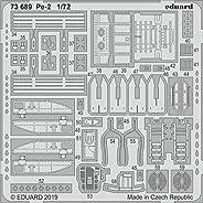 エデュアルド 1/72 Pe-2 エッチングパーツ (ズべズダ用) プラモデル用パーツ EDU73689