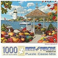 Bits and Pieces - 秋のSplendor II 1000ピースジグソーパズル 大人用 - 各パズルサイズ 20 x 27インチ - 1000ピースジグソーパズル Artist Alan Giana