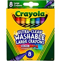 Crayola 52 – 3280 Large Crayola ® Washableクレヨン8パック