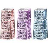 Assorted Colors Triple Face Bingoペーパー、1000シート
