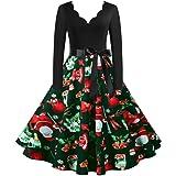Alljoin Women Vintage Halloween Dress Short Sleeve Lace Dress A Line Pumpkin Swing Dress Losse Mini Dresses