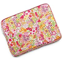 iPad 9.7, iPad Pro 10.5ケース Apple Pencil ホルダーつき リバティ・マーガレットアニー(オレンジ&ピンク)タナローン生地タイプ おしゃれ かわいい ペンホルダー SHOKO MIYAMOTO