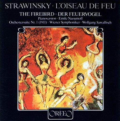 ストラヴィンスキー:「火の鳥」ピアノ版とオケ版 [Import] (Stravinsky - Firebird Suite (arr for piano))