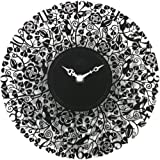 Capito (カピート) 掛け時計 Seven Bird Metal Clock Black ブラック 時計幅:210mm 風防無 SEVENBIRD BLACK
