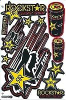 ロックスター メタルマリーシャ ROOKSTAR METAL MULISHA ステッカー セット Sticker Set イエロー Yellow TS-83