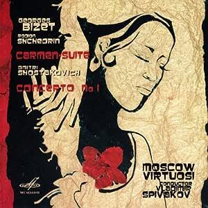 Bizet - Shchedrin: Carmen Suite, Shostakovich: Piano Concerto No.1