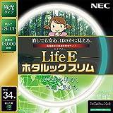 NEC 丸形スリム蛍光灯(FHC) LifeEホタルックスリム 34形 昼白色 FHC34EN-LE-SHG