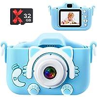 子供用カメラ デジタルカメラ 2000w画素 1080PHD 8500枚写真を撮る 1.5H録画時間 2インチIPS画面…