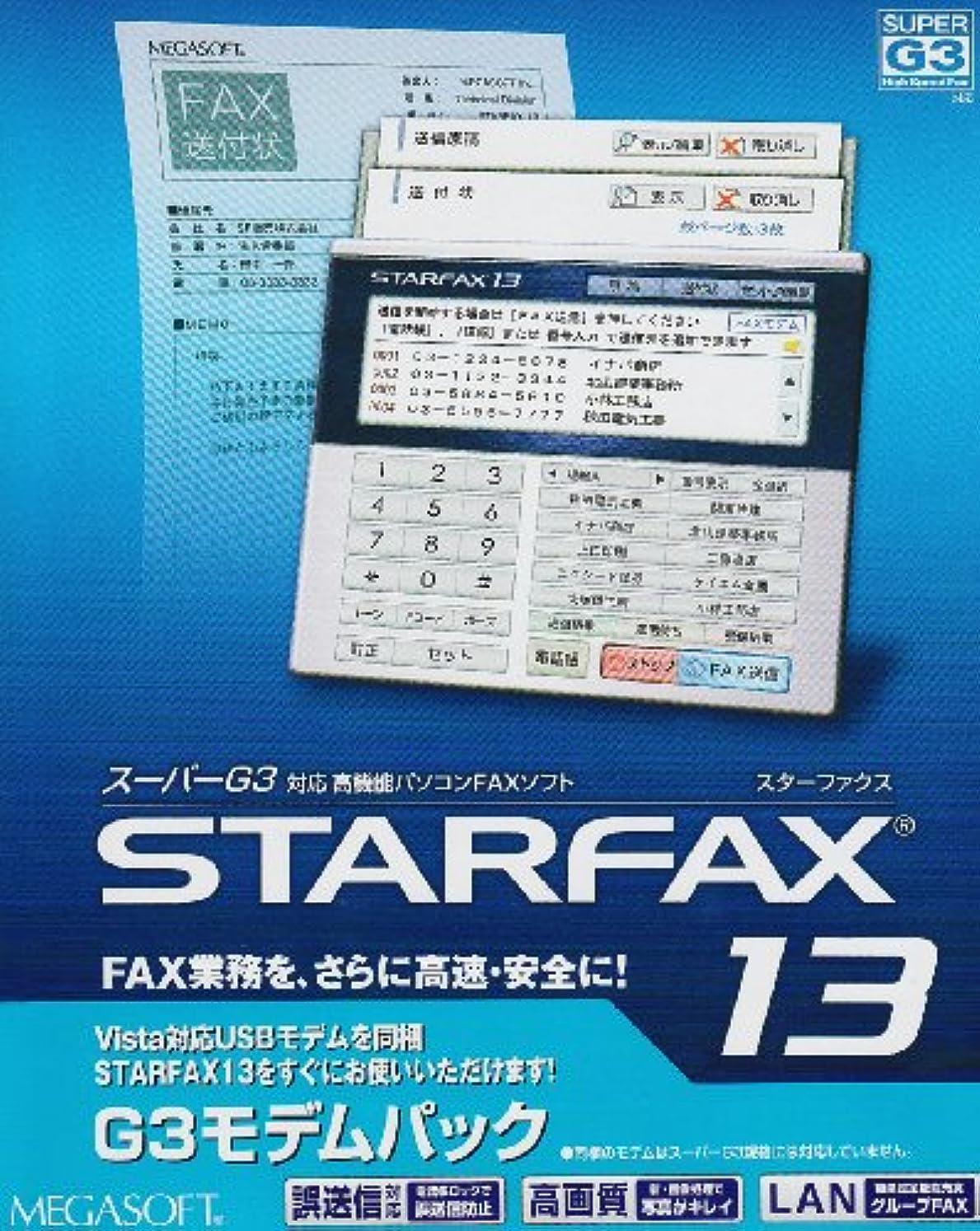 カラス理解するシフトSTARFAX13 G3モデムパック