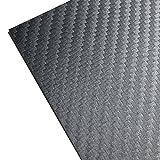 3M ラップフィルム カーボンシート スコッチプリント シール ステッカー カーラッピング シルバー/銀 サイドミラーや内装のカスタムに最適サイズ (1m x 30cm) 1080-CF201