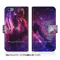Evis Club 【iPhone 7 (iPhone7)】 手帳型 スリム 薄型 [ COSMOS GIRLS Sexy 2279 ] カード収納