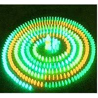 SiroNaka 光る ドミノ 大量 セット 蓄光 幻想的 積み木 としても ( 500個 セット) 収納袋付