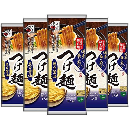 五木食品 つけ麺 魚介醤油  180g×5袋