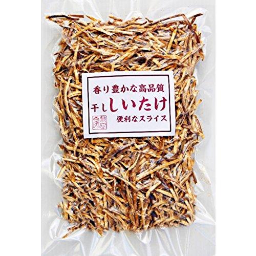 香り豊かな高品質 しいたけ お徳用 干し 乾燥 椎茸 スライス (200g)