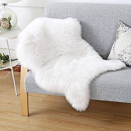 [해외]Emfay 양가죽 양탄자 부드러운 패드 소파 양탄자 인공 울 세탁/Emfay Mouton Rug Soft pad sofa rug artificial wool washable
