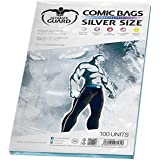 Ultimate Guard UGD020003 Comic Bags Resealable Silver Size (100)
