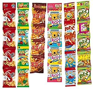 お菓子パック  ミニスナック菓子(4連)詰め合わせセット 6種類各1