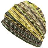 (カジュアルボックス)CasualBox MESH カラー デザインワッチ フリーサイズ メッシュ 夏 サマーニット帽 帽子 charm チャーム (イエロー)