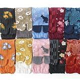 靴下 レディース 足袋 ソックス 10足セット モダン和風シリーズ 22-24cmサイズ