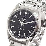[オメガ]OMEGA メンズ腕時計 シーマスター アクアテラ 2504.50 コーアクシャル ブラック文字盤 中古