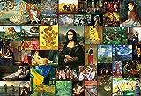 2000スモールピースジグソーパズル 名画セレクション40(49×72cm) S92-507
