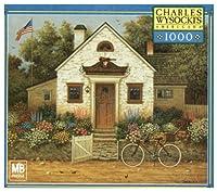 Charles Wysocki Americana Series 1000 Piece Puzzle - Future Baseball Player or Violinist
