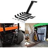 Vikofan Lawn Mower Towing Hitch ZTR Riding Garden Lawn Pro Tow Mover Hitch Kit Fit for Cub Cadet John Deere Husqvarna Wheel H