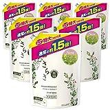 【ケース販売】さらさ 無添加 植物由来の成分入り 洗濯洗剤 液体 詰め替え 1200g(約1.5倍)×6袋