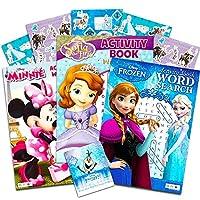 ディズニーFrozenアクティビティブック単語検索 Disney Word Search Puzzles