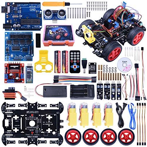 Kuman スマートカー 日本語マニュアル Arduino用 ロボットカー ...